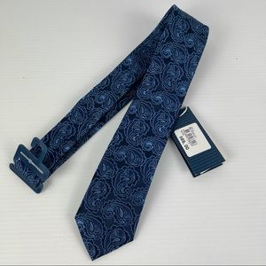 Pure Silk Tie - NWT - Boston Brothers - Made Italy